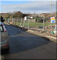 ST1688 : Fenced-off area in Bedwas by Jaggery