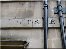 ST7565 : Old Boundary Marker by the A4, The Paragon by Milestone Society
