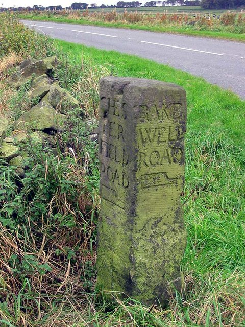 Old Guide Stone