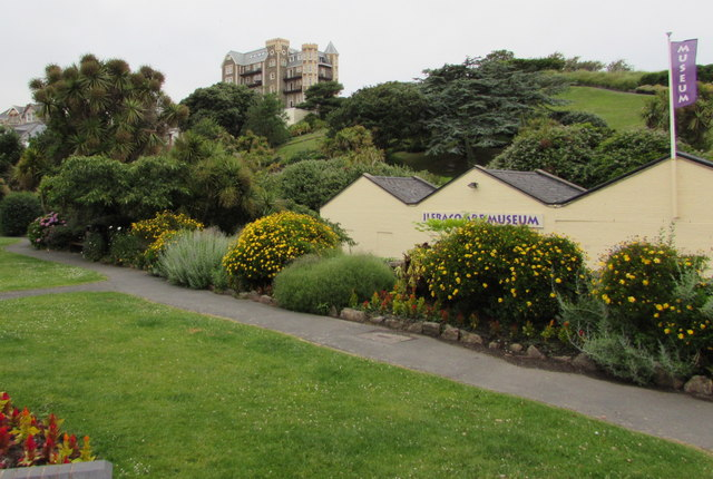 Path through Jubilee Gardens, Ilfracombe