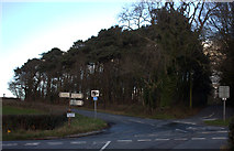 SD4953 : Five lanes end.  Wham Lane, Chipping Road junction by Robert Eva