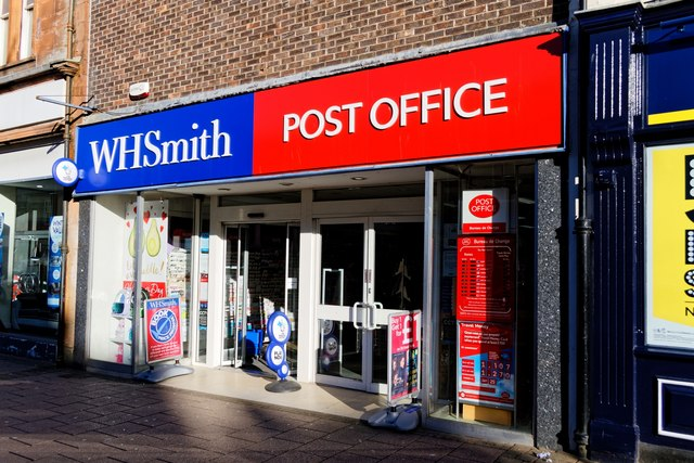 WH Smith & Post Office - Ayr