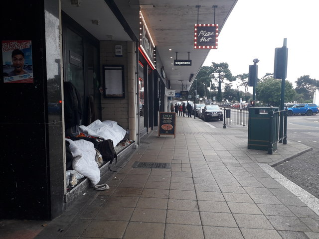 Bournemouth: homelessness on a Westover Road doorstep
