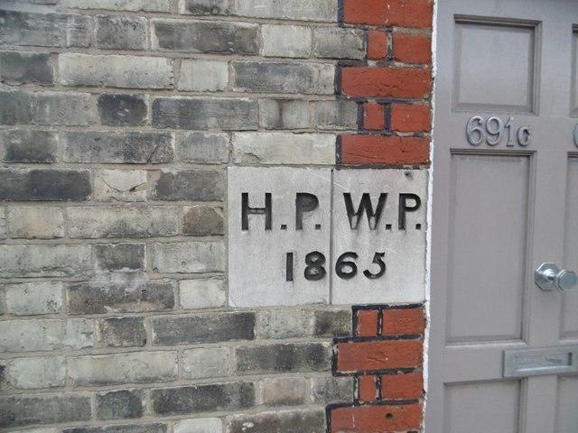 Old Boundary Marker by the A404, St. Mary's Terrace, Harrow Road
