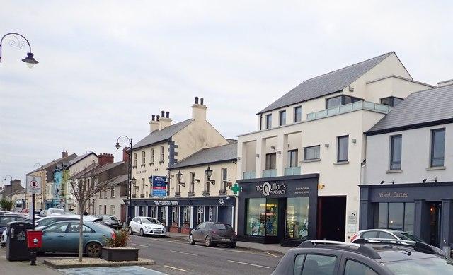 View South along Main Street, Blackrock