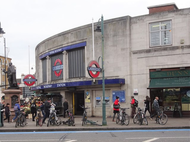 Tooting Broadway Underground station, Greater London