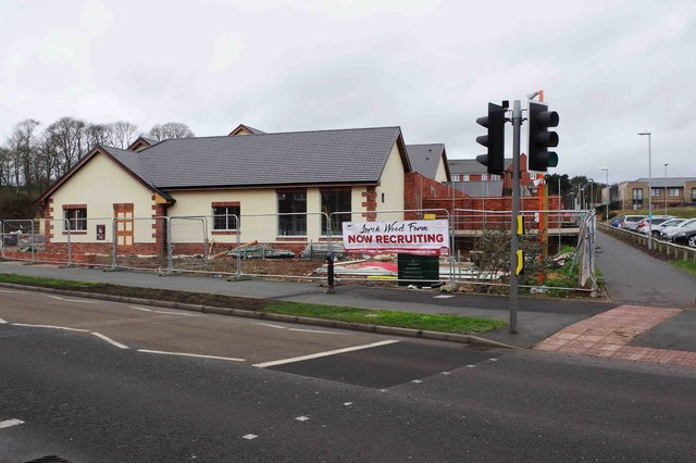 Larch Wood Farm under construction (1), Silverwoods Way, Kidderminster, Worcs