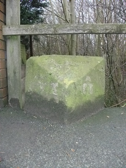 Old Boundary Marker