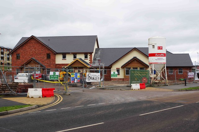 Larch Wood Farm under construction (3), Silverwoods Way, Kidderminster, Worcs