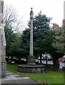 SK5903 : War Memorial, Victoria Road Baptist Church by Alan Murray-Rust