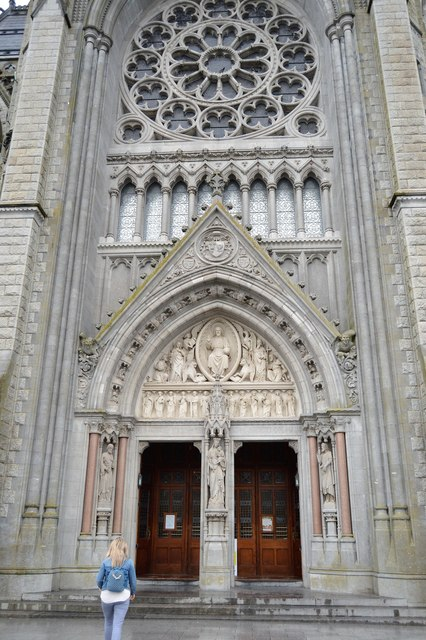 Cathedral of St Colman - main door