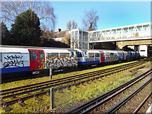 TQ1979 : Abandoned Train, Acton Town Station by Des Blenkinsopp