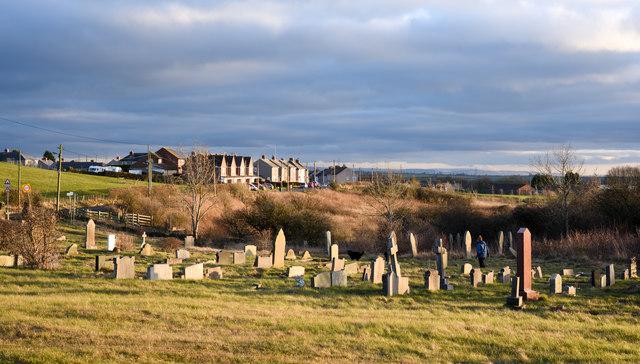 Graveyard at Quarrington Hill