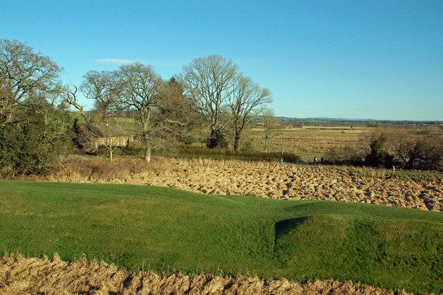 Natural Defences at Caerlaverock Castle