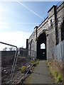 SE2932 : Path under the Holbeck High Line by Stephen Craven