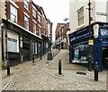 SJ8990 : Corner of Bridge Street and Great Underbank by Gerald England