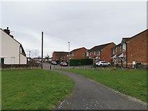 TA1914 : Spring Street, Immingham by Chris Morgan