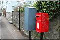 ST5874 : Postbox, Kingsdown by Derek Harper