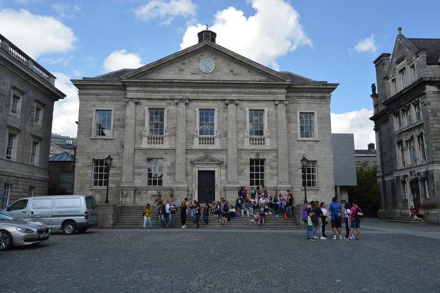 Trinity College Dublin - refectory    © N Chadwick :: Geograph Ireland