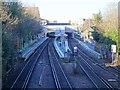 TQ2475 : Putney railway station, London by Nigel Thompson