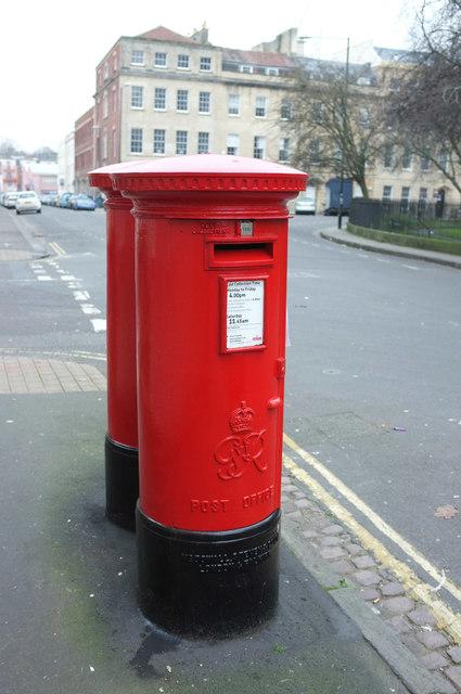 Postboxes, Portland Square, Bristol