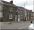 SS9389 : Stone houses, High Street, Ogmore Vale by Jaggery