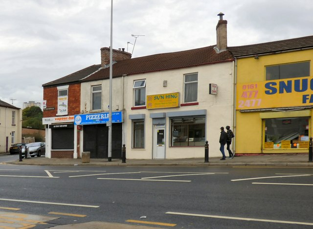 Shops on Great Portwood Street