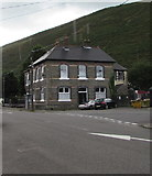 SS9389 : North side of the Corbett Arms, Bridge Street, Ogmore Vale by Jaggery