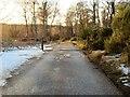 NJ5500 : Cattle Grid by Dessmuir Estate by Stanley Howe