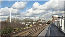 TQ2775 : Looking eastwards from Clapham Junction by Marathon