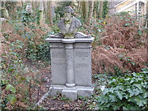 TQ2886 : The grave of George Holyoake in Highgate Cemetery by Marathon