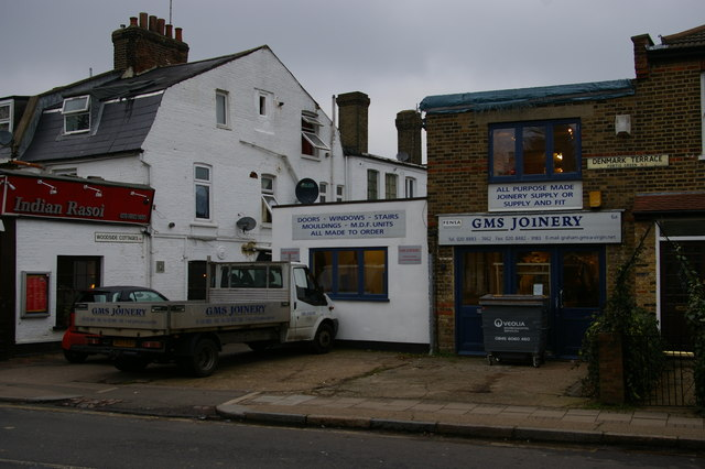 Joinery shop, Fortis Green