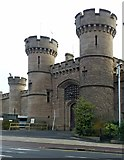 SK5803 : County Gaol, Leicester, gatehouse by Alan Murray-Rust