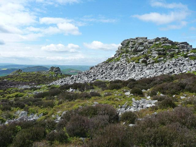 Cranberry Rock, Stiperstones