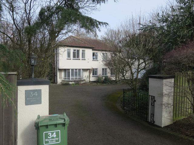 34 Madingley Road