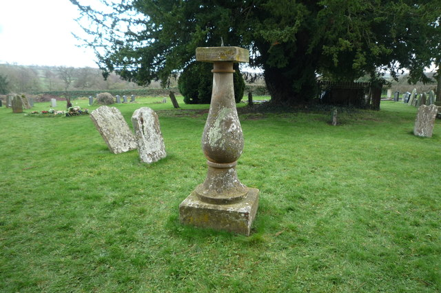 Sundial at St. Anna's Church (Thornbury)