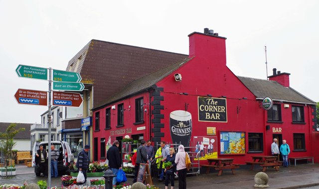 The Corner Bar, Main Street, Falcarragh, Co. Donegal