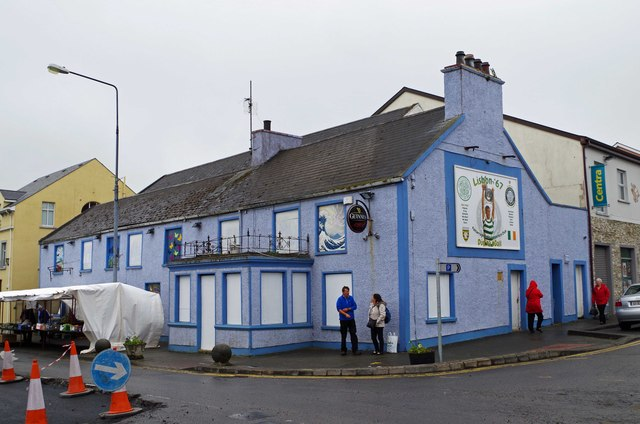 The former Biddy Jacks, Main Street, Falcarragh, Co. Donegal