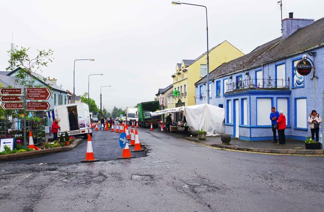 Resurfacing Main Street, Falcarragh, Co. Donegal