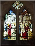 TQ7924 : St James the Great, Ewhurst Green: stained glass window (a) by Basher Eyre