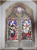 TQ7924 : St James the Great, Ewhurst Green: stained glass window (e) by Basher Eyre