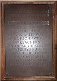 TQ7924 : St James the Great, Ewhurst Green: memorial (a) by Basher Eyre