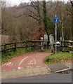 ST1494 : Footpath and cycleway, Ystrad Mynach by Jaggery