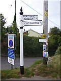 SW9980 : Old Direction Sign - Signpost by Milestone Society