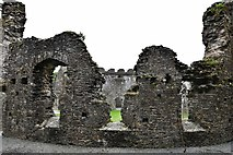 SX1061 : Restormel Castle: The Hall 2 (inner wall) by Michael Garlick