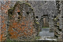 SX1061 : Restormel Castle: From the Hall to the Servery by Michael Garlick