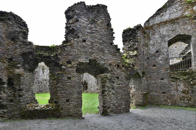 Restormel Castle: The Guardroom