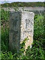 NX3443 : Old Milestone by the A747 in Port William by Milestone Society