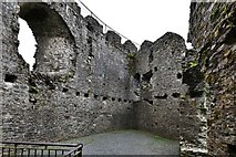 SX1061 : Restormel Castle: The Lady's Chamber by Michael Garlick