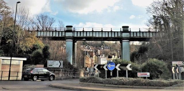 Queen's Road railway bridge, Hastings